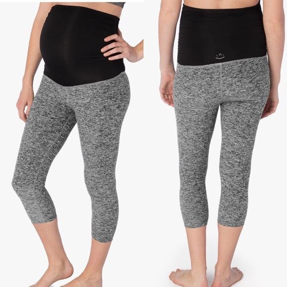 183f98b7fa52cd Beyond the Bump Pants - Beyond The Bump Yoga Maternity Crop Leggings XS
